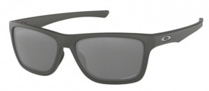 Okulary OAKLEY HOLSTON Matte Dark Grey / Prizm Black Polarized oo9334-11