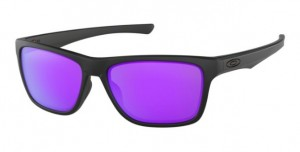 Okulary OAKLEY HOLSTON Matte Black / Violet Iridium oo9334-09