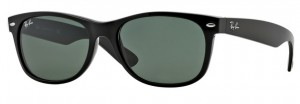 Okulary RAY BAN 2132 NEW WAYFARER Black / G-15XLT ORB2132-901L