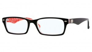 Oprawki RAY BAN 5206 Black/Red Texture ORX5206-2479
