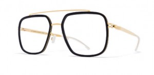 Oprawki MYKITA REED MH7 Pitch Black / Glossy Gold C306