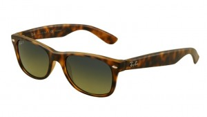 Okulary RAY BAN 2132 NEW WAYFARER Matte Havana / Blue/Green Mirror Polarized ORB2132-894/76