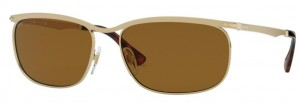 Okulary PERSOL Gold / Brown PO2458S-107633