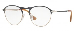 Oprawki korekcyjne PERSOL Matte Grey / Light Brown PO7092V-1071