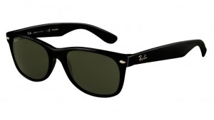 Okulary RAY BAN 2132 NEW WAYFARER Black / Natural Green Polarized ORB2132-901/58
