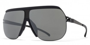 Okulary MYKITA WOLFI MH6 Pitch Black / Black Mirror C305