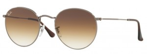 Okulary RAY BAN 3447N ROUND METAL Gunmetal / Crystal Brown Gradient ORB3447N-004/51