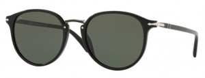 Okulary PERSOL Black / Green PO3210S-95/31