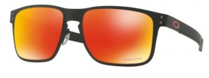 Okulary OAKLEY HOLBROOK METAL Matte Black / Prizm Ruby Iridium oo4123-12