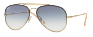 Okulary RAY BAN 3584N Gold / Clear Gradient Light Blue ORB3584N-001/19