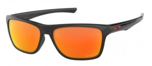Okulary OAKLEY HOLSTON Polished Black / Prizm Ruby Polarized oo9334-12