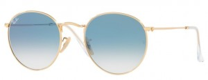 Okulary RAY BAN 3447N ROUND METAL Arista / Crystal White Gradient Blue ORB3447N-001/3F
